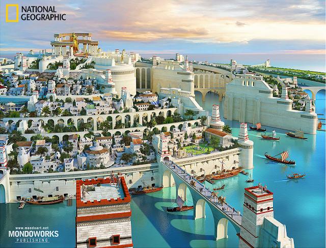 Here's A Detailed Description Atlantis