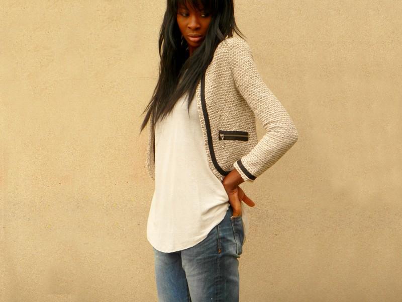 Veste en jean femme vero moda