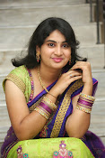 Krishnaveni glam in half saree-thumbnail-9