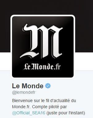 Hacker, ataque, Twitter, diario francés