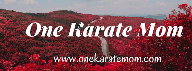 One Karate Mom: Inspiration for Every Mom