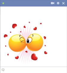 Facebook Kiss Emoticon