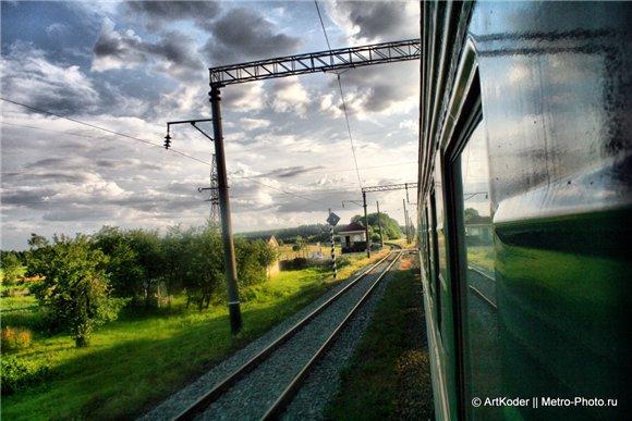 Перроны поезда