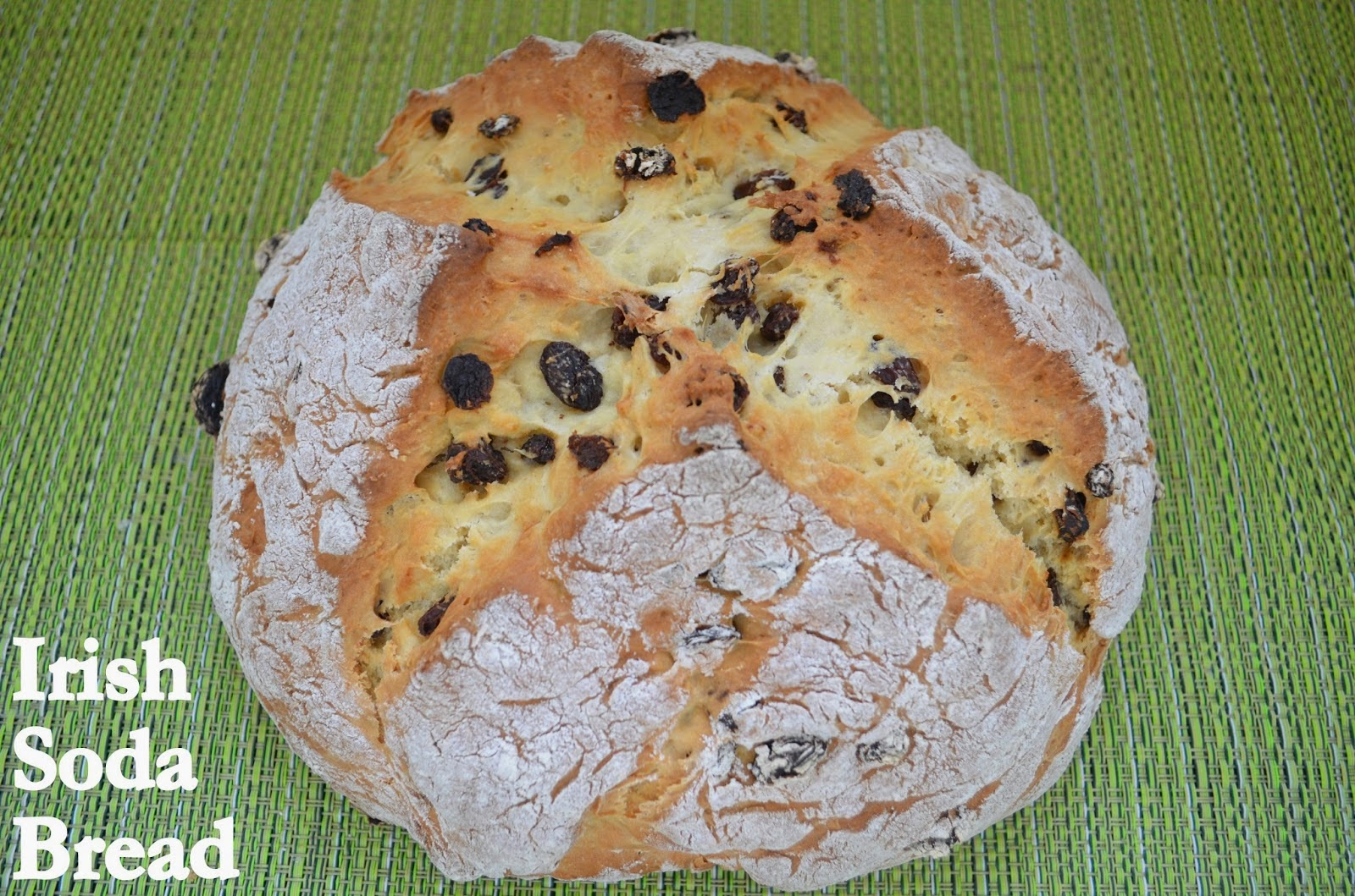 Featured Recipe | Irish Soda Bread from Flavors by Four #bread #Irish #StPatricksDay #SecretRecipeClub #recipe