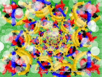 Gambar Abstrak - 8 - Putaran Warna
