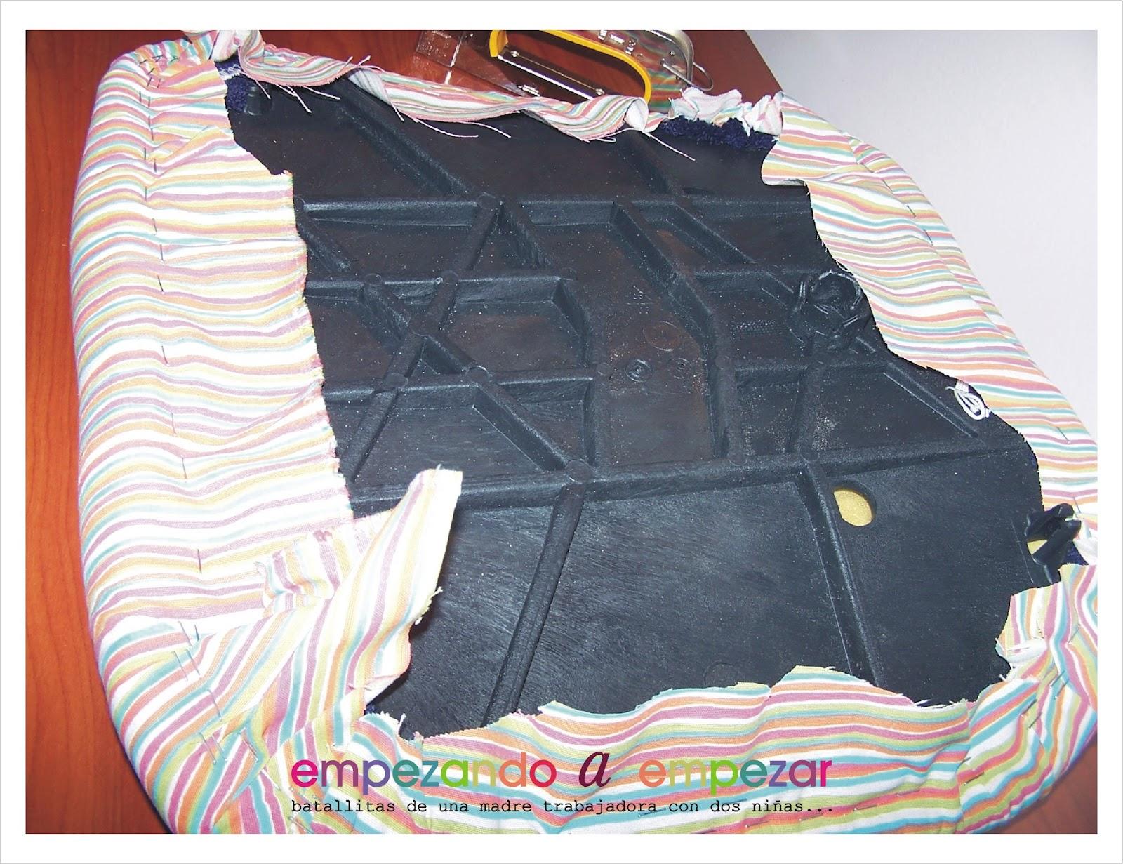 Empezando a empezar c mo tapizar una silla tutorial - Como tapizar una silla con respaldo ...