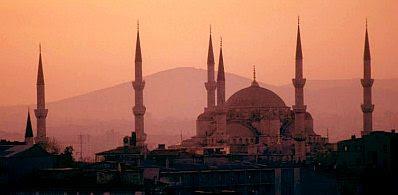 Minarets in Istanbul