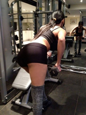 sherlyn chopra workout unseen glamour  images