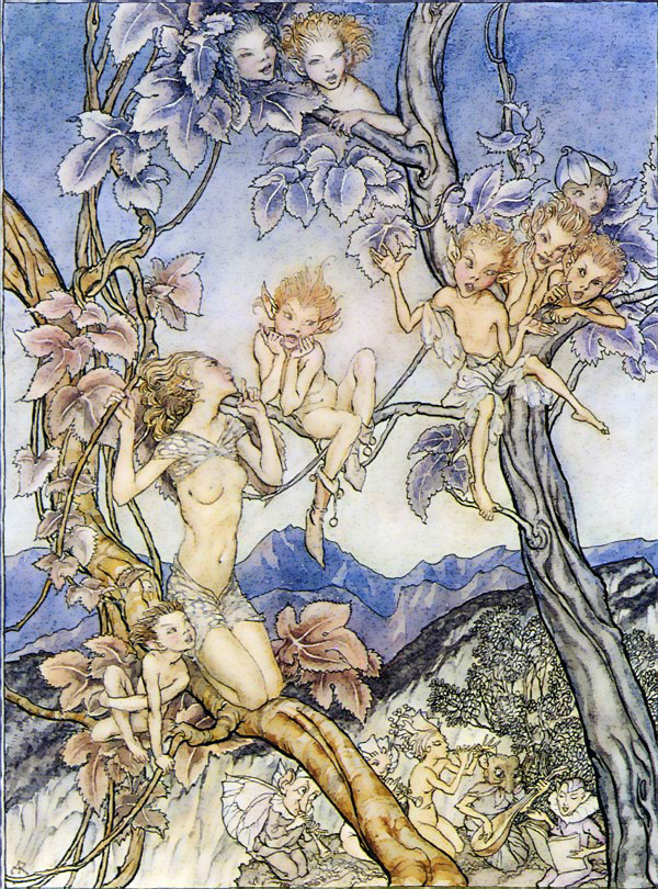 arthur rackham fairy song