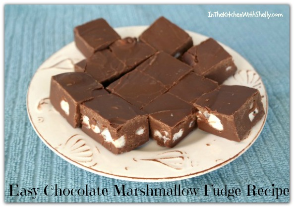 Shakin & Bakin Foodie Blog: Easy Chocolate Marshmallow ...