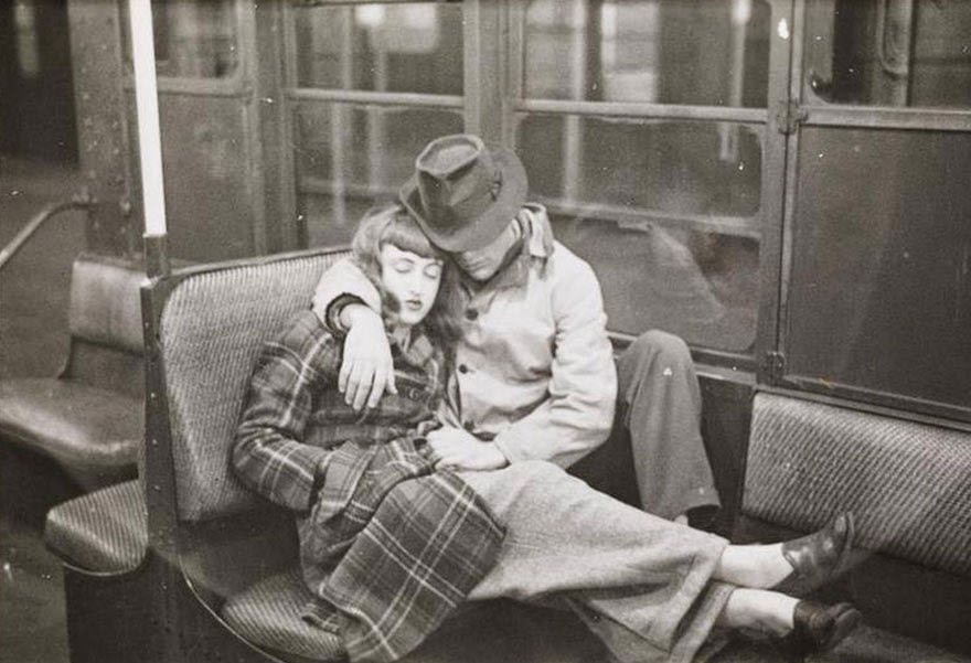 new york subway 1946 photography stanley kubrick