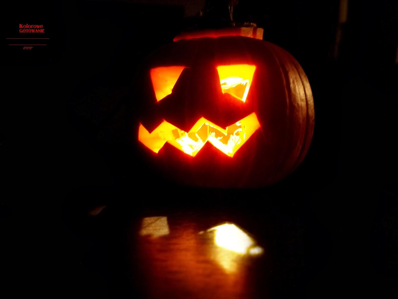 Straszna dynia na Halloween!