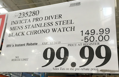 Deal for the Invicta Pro Diver Men's Watch at Costco