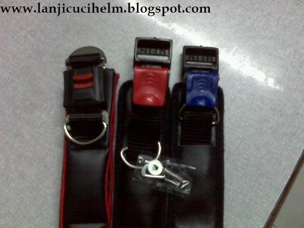 tersedia Tali model kotak dan Tali model buaya