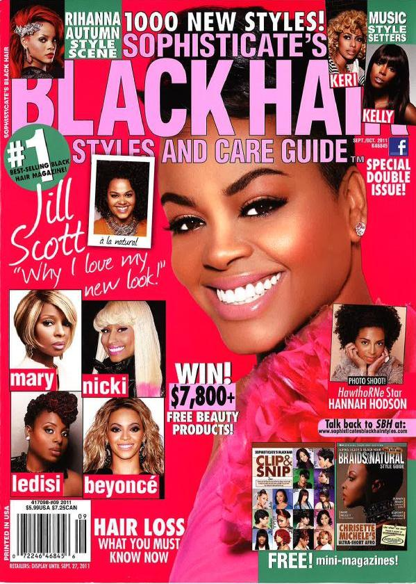 in the september issue of sophisticate s black hair magazine