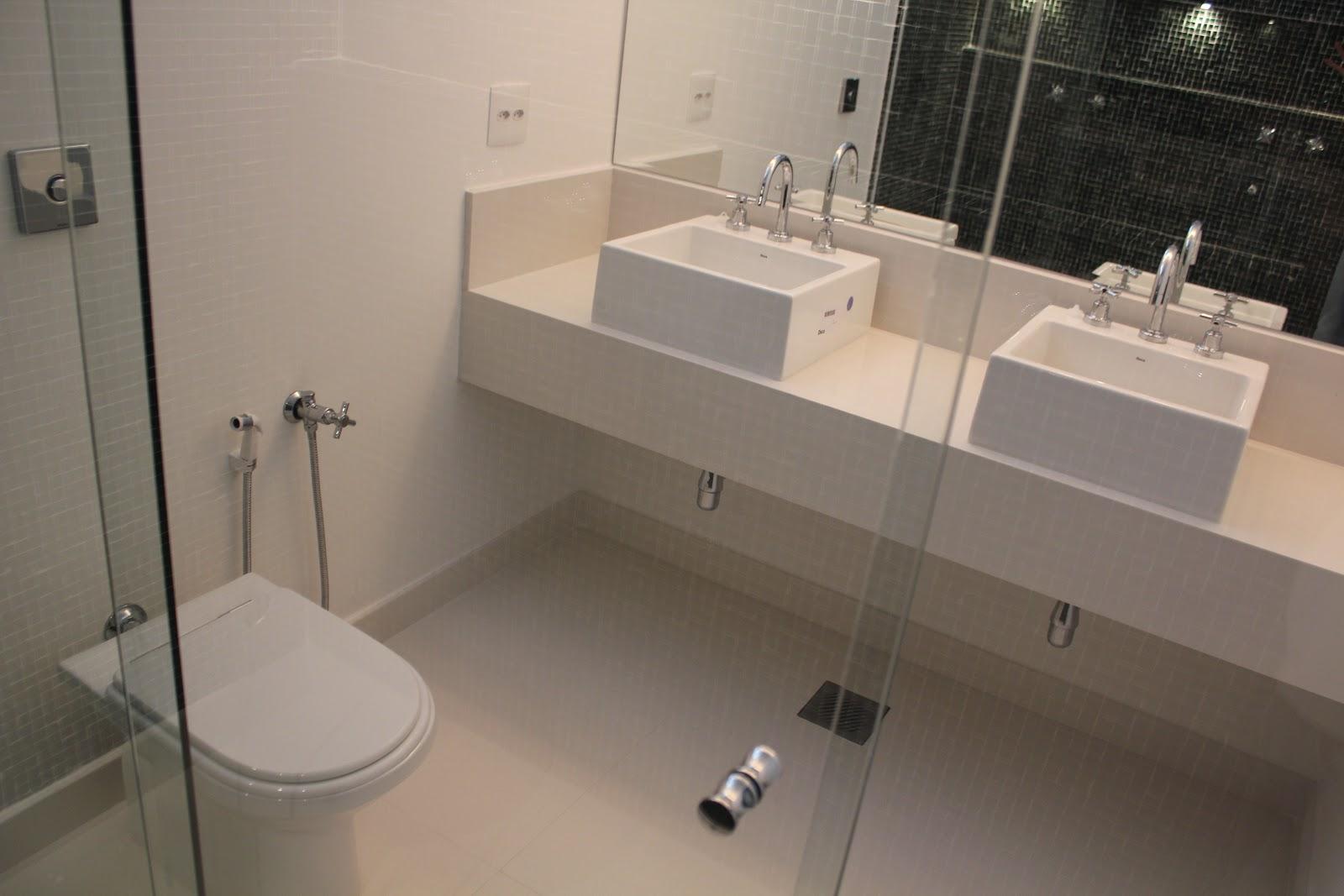 Fitting Urbanizadora Setembro 2012 -> Decoracao De Banheiros Com Duas Cubas