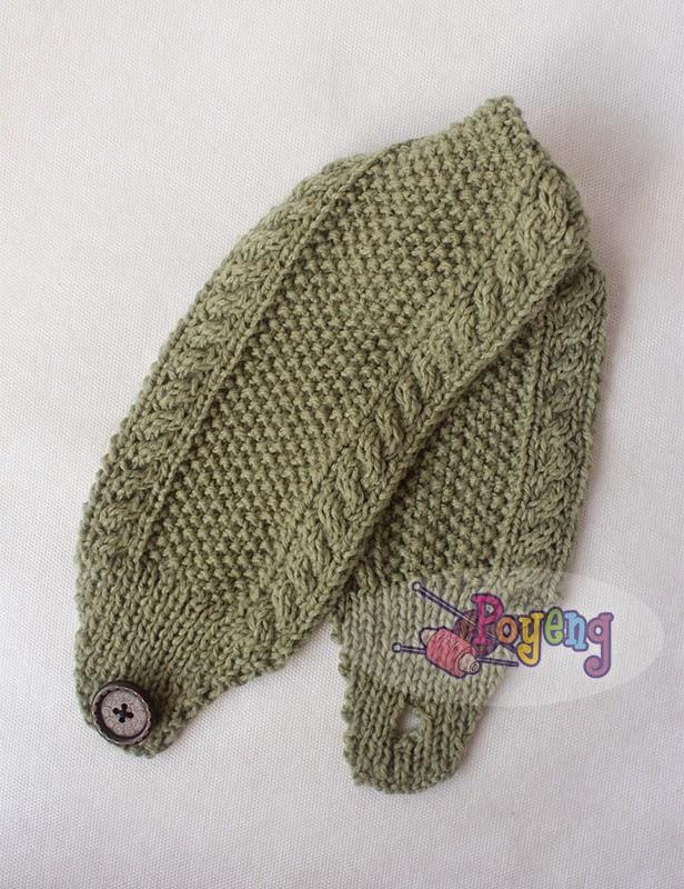 Nice Knitting Patterns : Ajeng Belajar Merajut: Rajut Free Knitting Pattern : Nice cable Headband