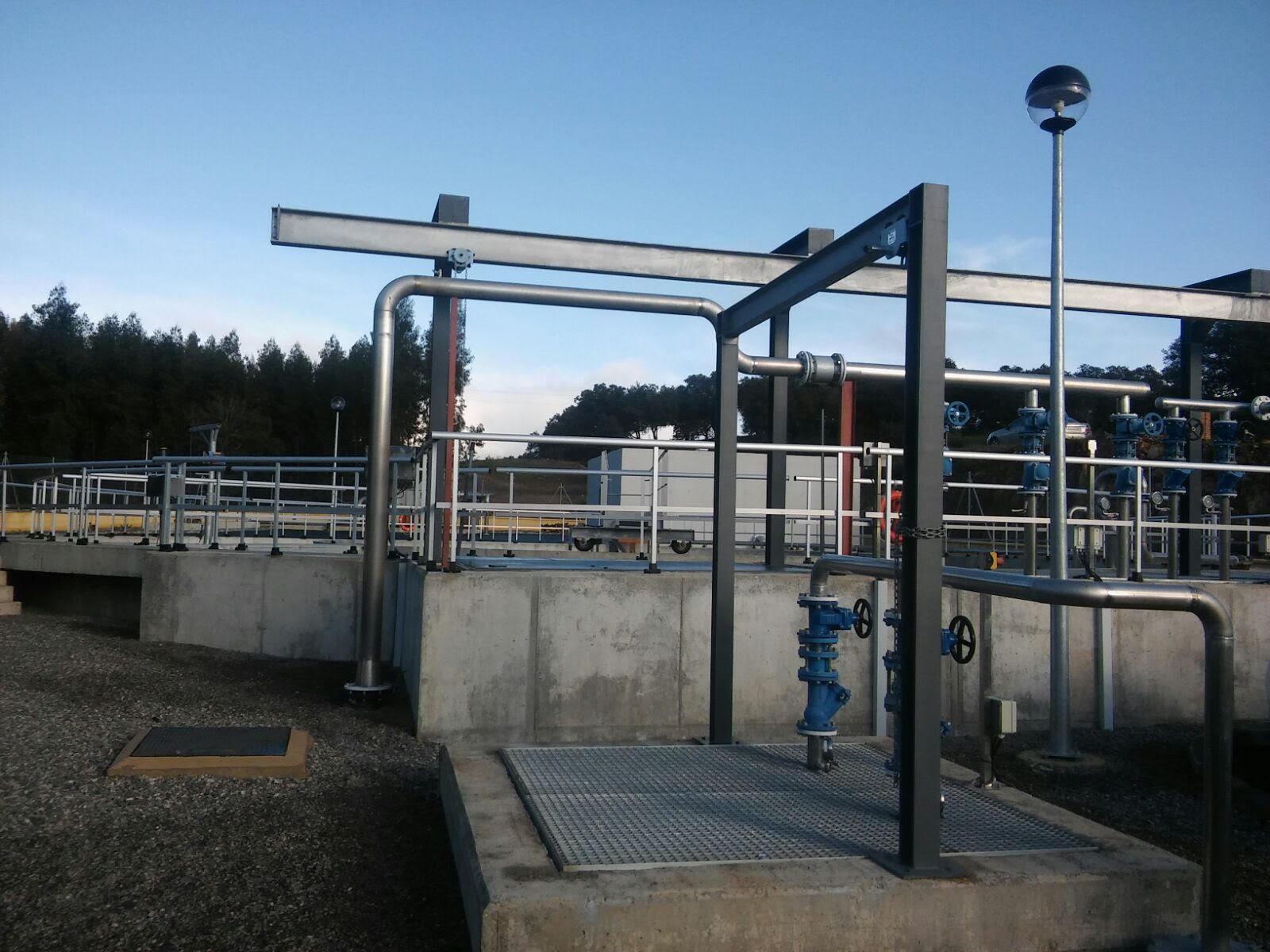 Zalamea la otra mirada la depuradora de aguas for Depuradora aguas residuales
