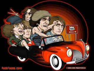 AC/DC Caricatura