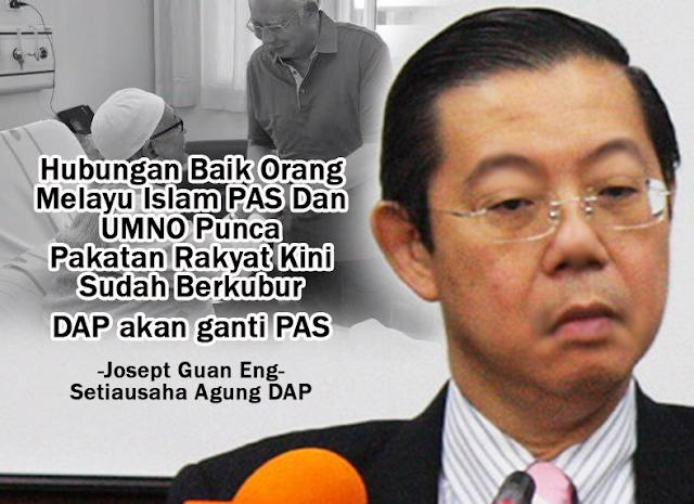 Pakatan Berkubur Kerana Orang Islam?! #DAP #PakatanRakyat #LawanTetapLawan