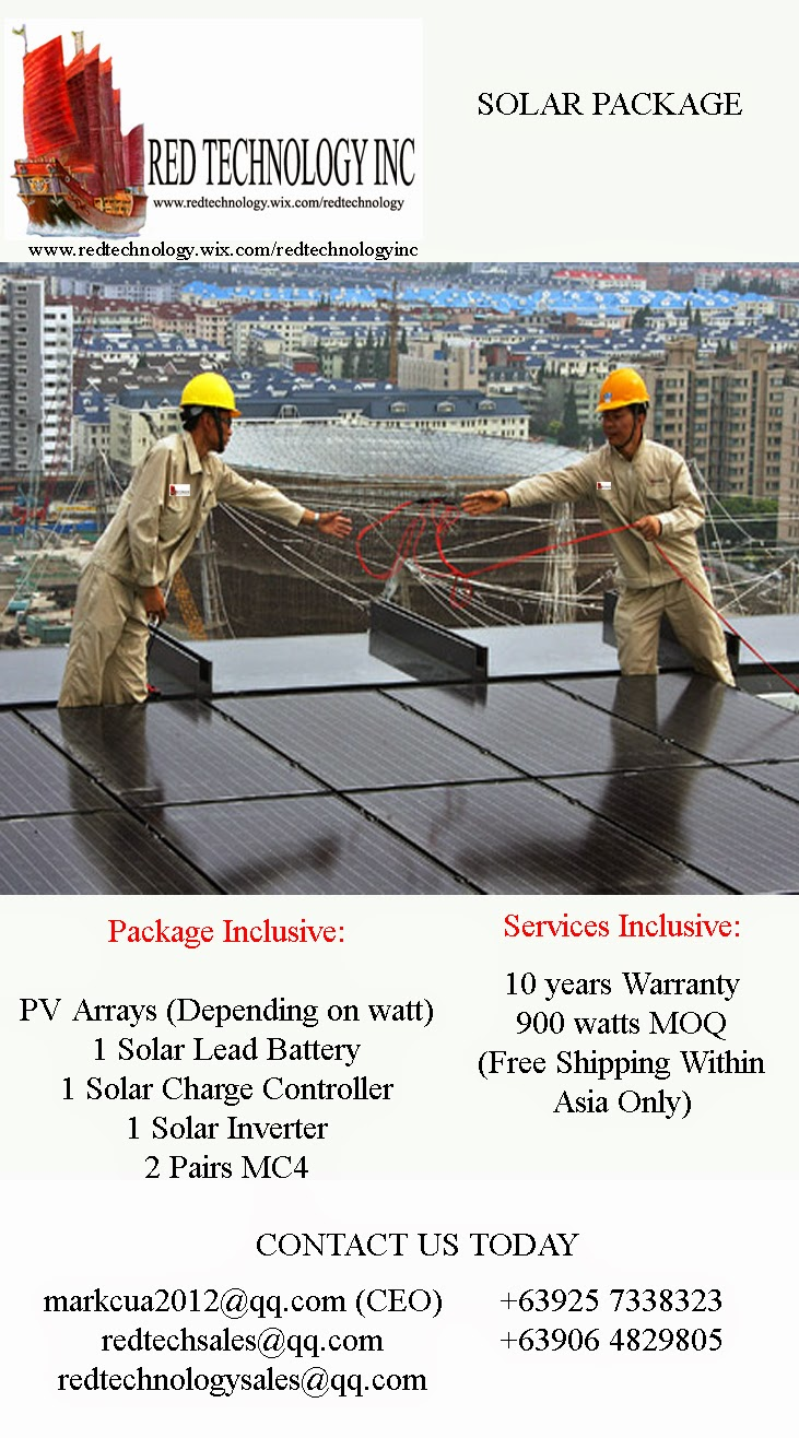 Solar Package Deal (Red Tech)