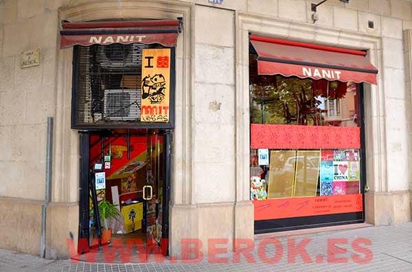 Restaurante chino Nanit de Barcelona
