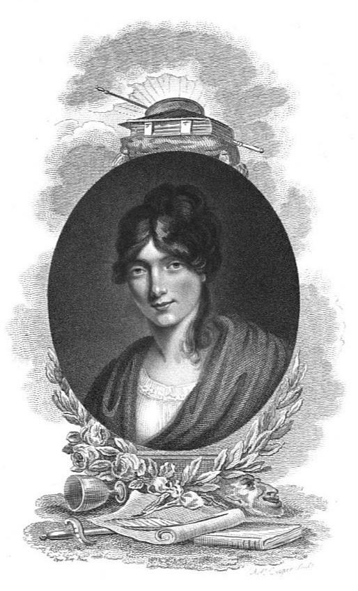 Hester Jane Sheridan née Ogle  from La Belle Assemblée (1825)