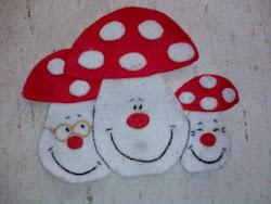 Os Cogumelos…