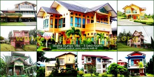 <b>villa istana bunga 5 kamar </b>