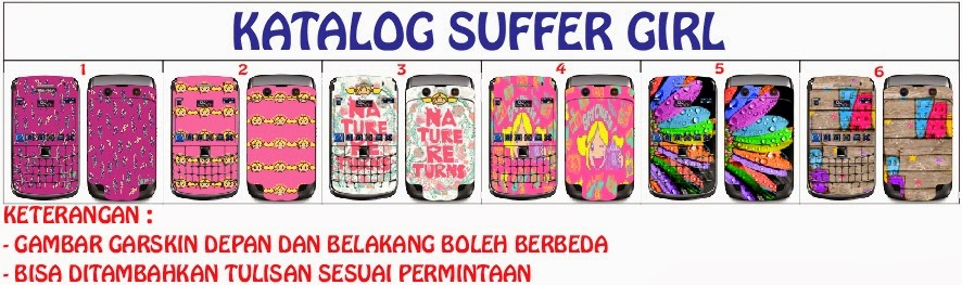 garskin suffer girl