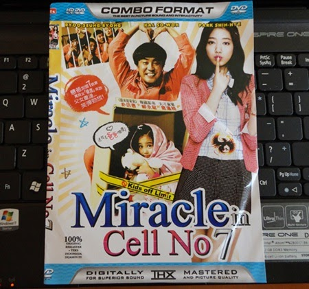 Pemenang Jom Teka Harga CD Miracle in Cell No.7