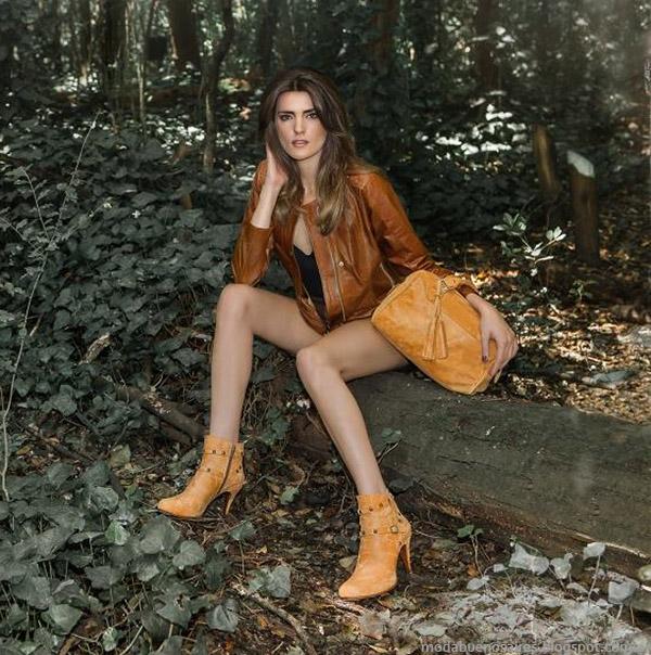 Botas, camperas y carteras de moda otoño invierno 2015 Corium.