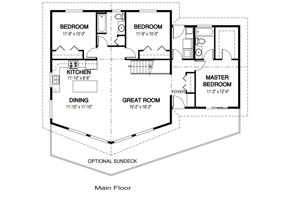 Descargar planos de casas y viviendas gratis fotos de - Planos de casas de una planta pequenas ...