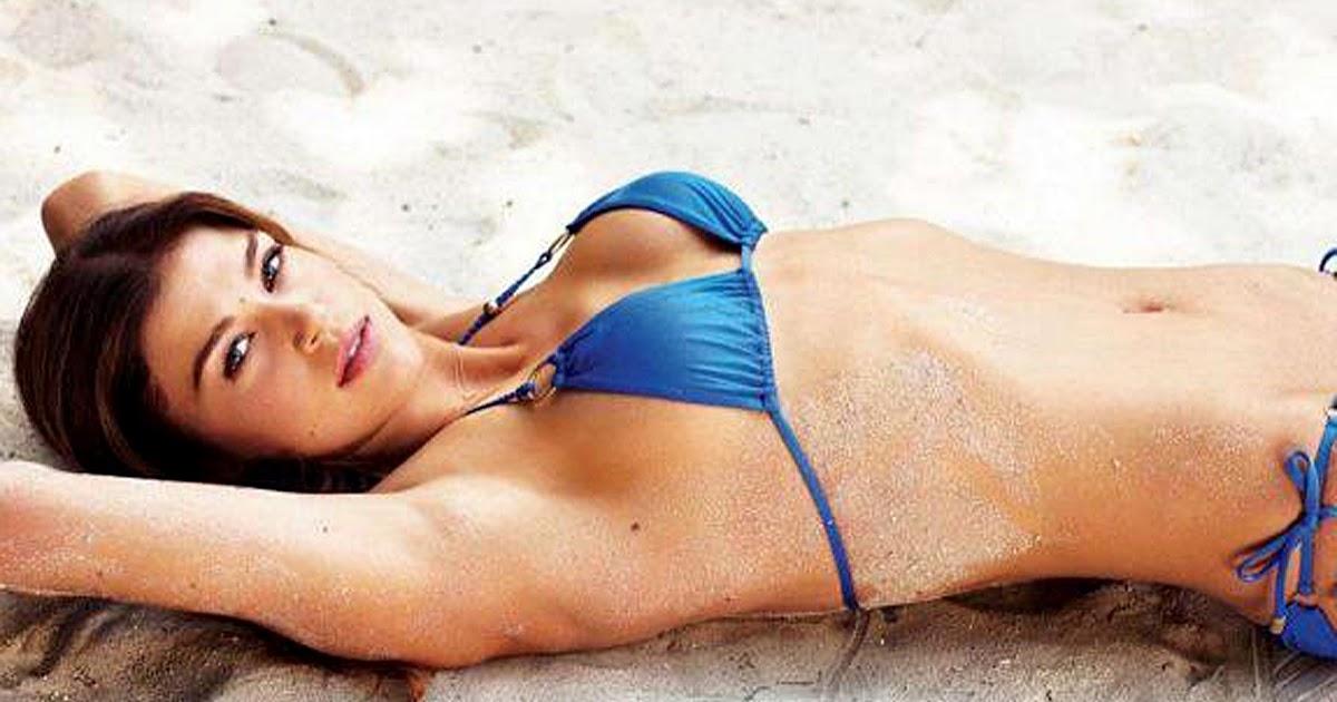Sexiest Women In Bikinis: Adrianne Palicki Sexy Bikini Freida Pinto Married