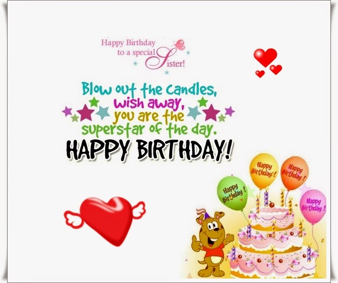 Happy Birthday Cousin Sister Wishes, Poems And Quotes