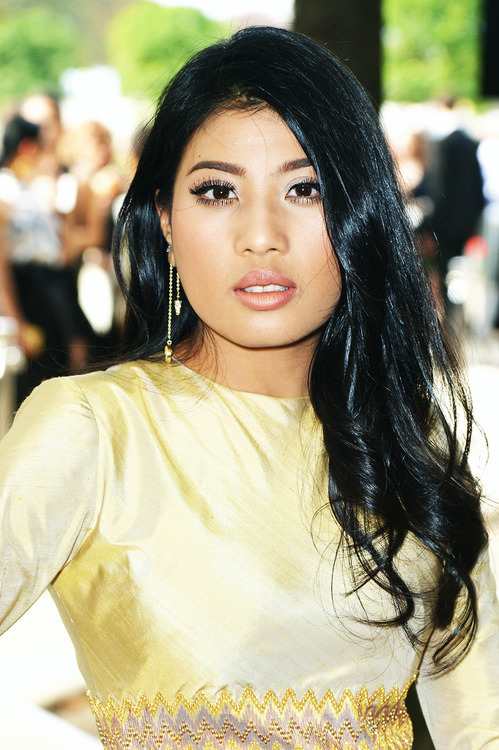 Princess Sirivannavari Nariratana of Thailand attends the Elie Saab show as part of the Paris Fashion Week Womenswear Spring/Summer  in Paris, France.