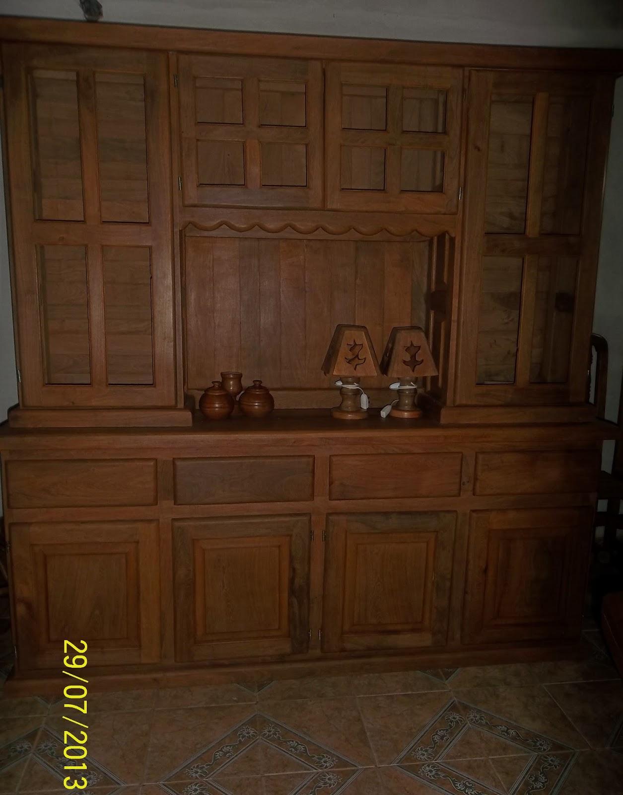 fotos algarrobo muebles Doomos Argentina - fotos muebles cocina algarrobo
