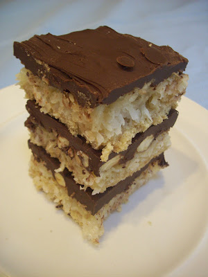 Almond Joy Bars