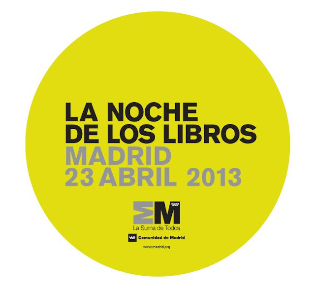 Agenda cultural noche de los libros 2013
