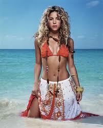 Shakira beach sexy