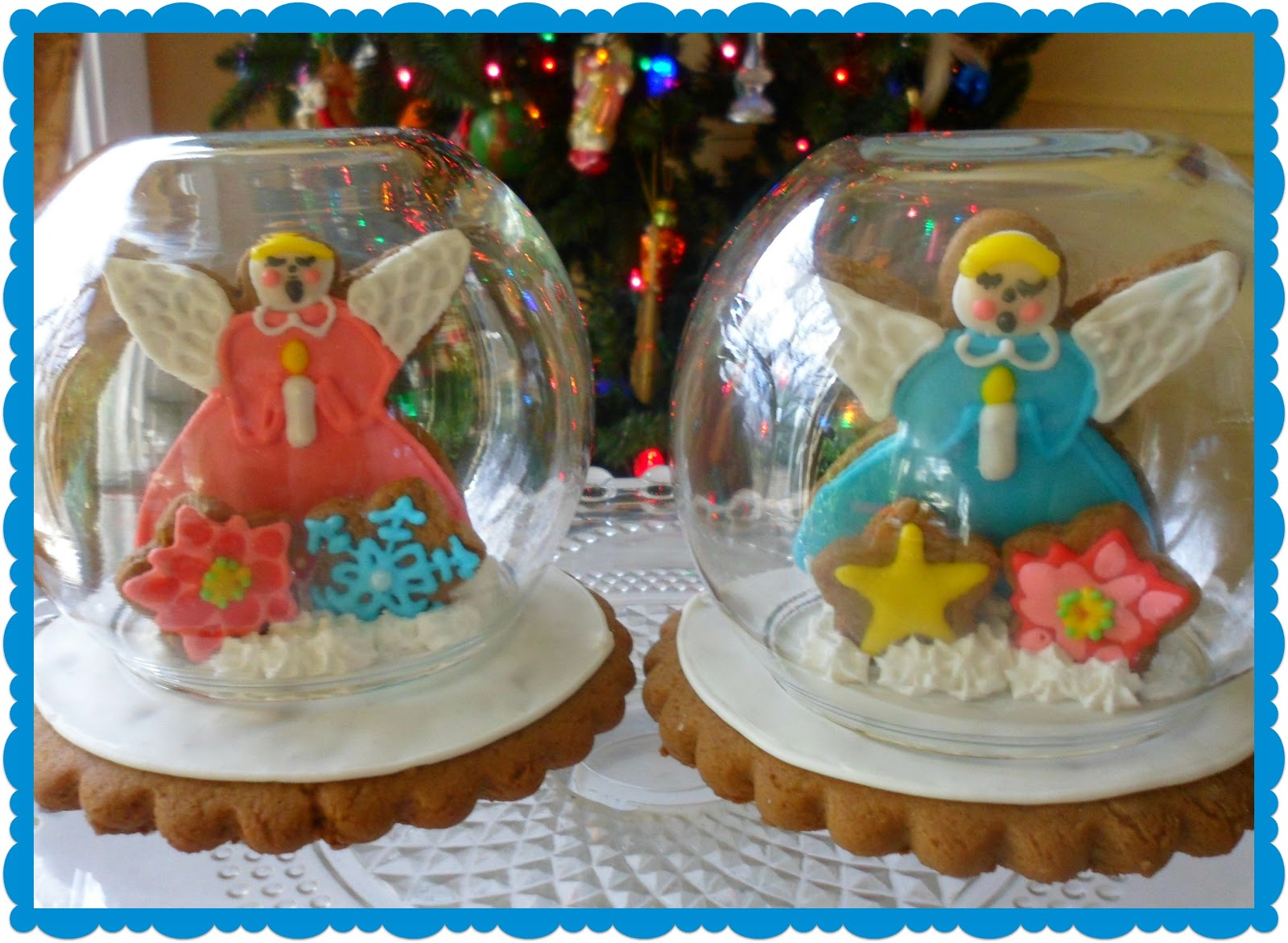 The Enchanted Oven Snow Globe Cookie Party Favors