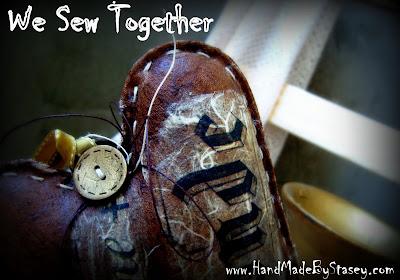 Или шьем вместе кофейное сердце!