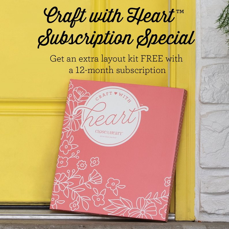 CTMH Craft With Heart Subscription