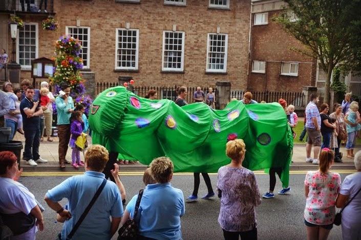 Festivals Carnival Caterpillar Pembrokeshire