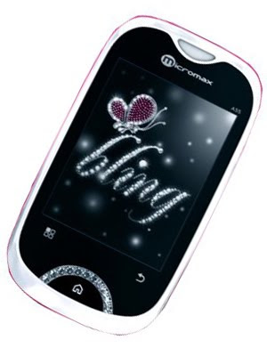 new Micromax A55 (Bling 2) Android Smartphone
