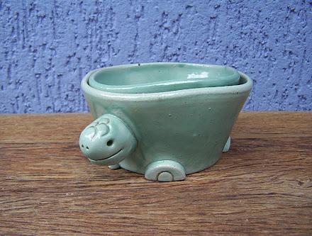 "Conjunto ""Bowl Tartaruga"""