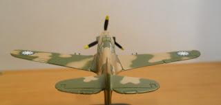 maqueta de avión a pequeña escala