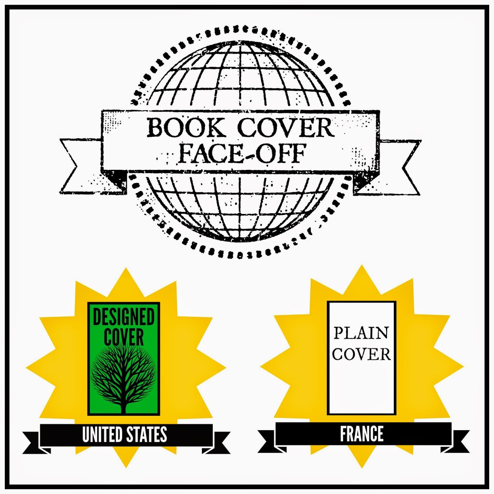 Book Cover Face-Off: United States vs. France