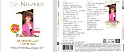 2007-Las Numero 1 CD y DVD