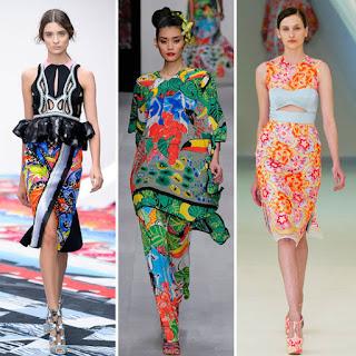 desain fashion bold print